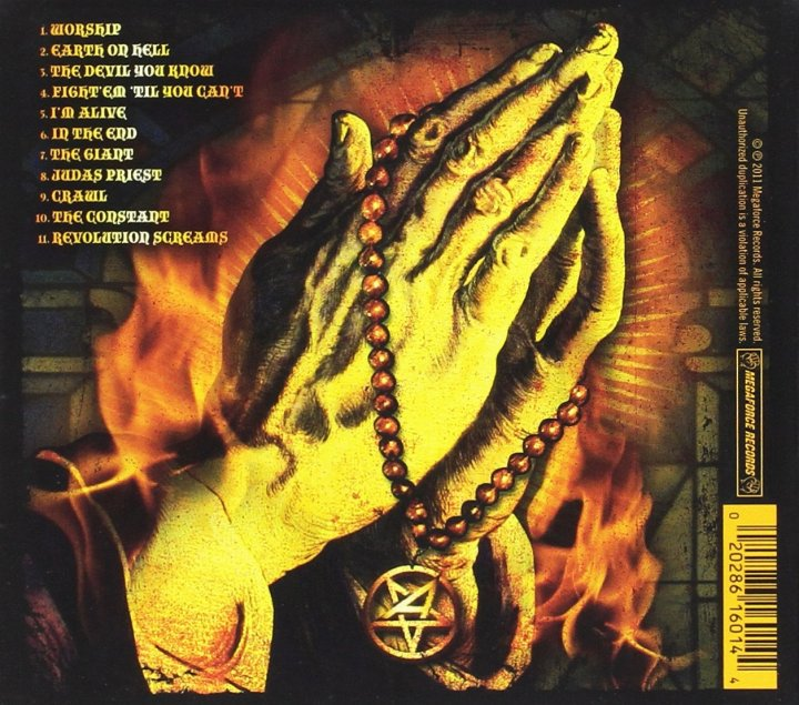 anthrax worship music back cover