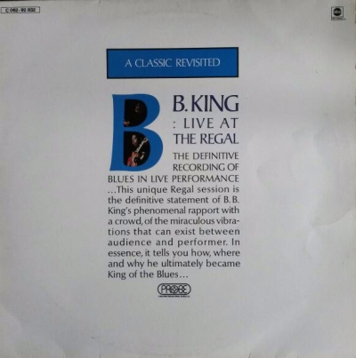 bb king live at the regal vinyl