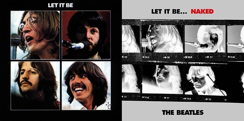 beatles - let it be, let it be naked